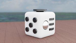 fidget toy cube model