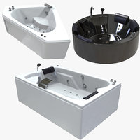 balneo jacuzzi bath pack 3D model