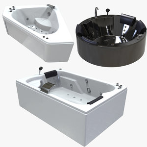 balneo jacuzzi bath pack 3D model