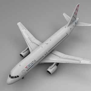 3D croatia airlines airbus a320