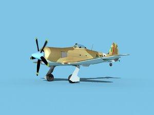3D propeller hawker sea fury