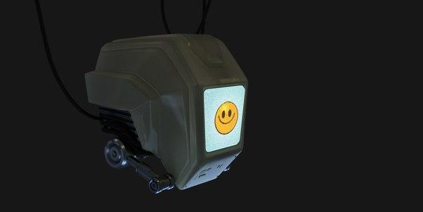 3D model droid servant