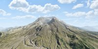 Volcano Mountains - Mount St Helens