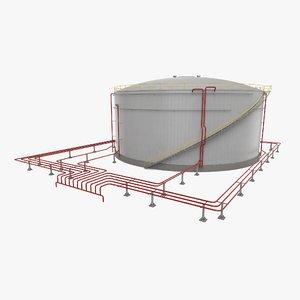 refinery tank model