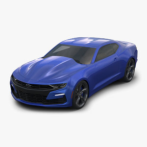 3D chevrolet camaro 2019 model