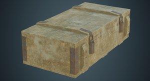 3D ammunition box 2d