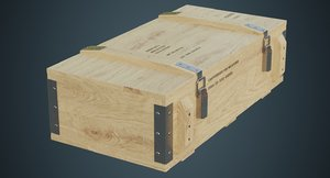 ammunition box 2b 3D model