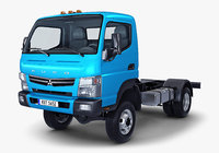 mitsubishi fuso canter 4x4 3D model