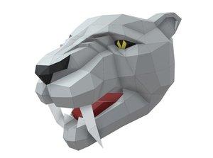 tiger saber tooth model