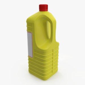 detergent bottle 4 3D model