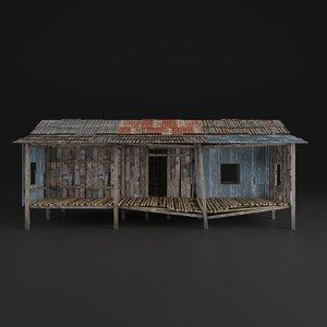 3D realistic pbr model