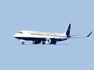 boeing 737-8 3D model
