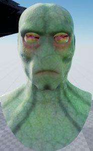 3D neimoidian head