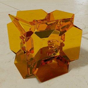ideas - dice edges 3D model