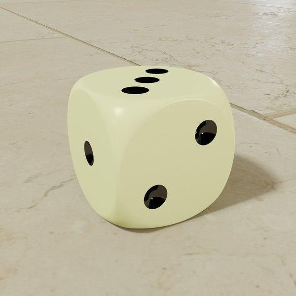 ideas - dice standard 3D model