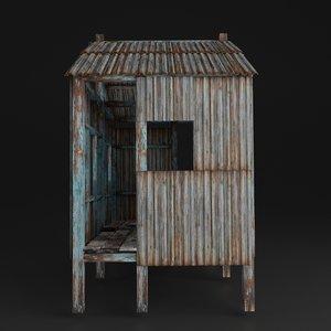house slum 3D