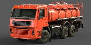 brandless truck cistern 3D model