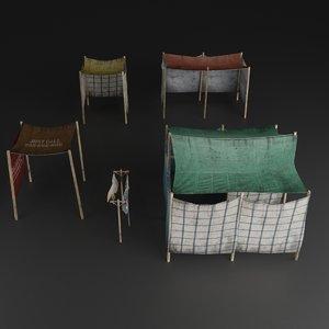 house home slum 3D model