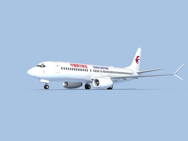 boeing 737-8 airliner model