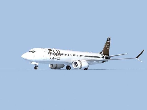 boeing 737-8 airliner 3D