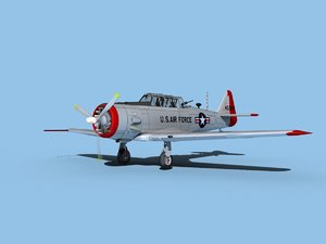 3D at-6 texan north american