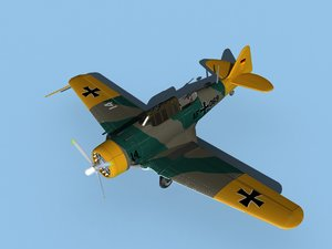 3D at-6 texan north american model