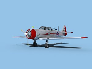 at-6 texan north american model