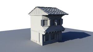 house etar bulgaria 3D model