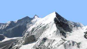 3D model landscape mount everest