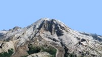 Volcano Mountains - Mount Rainier