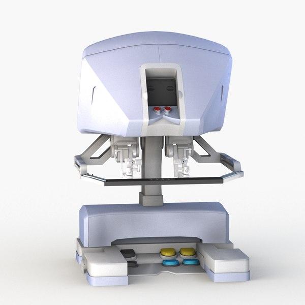 3D model surgeon console