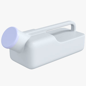 urinal bottle container 3D model