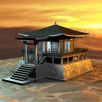 asian house model