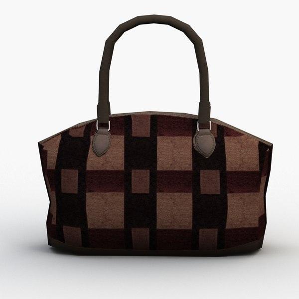 handbag 036 3D model