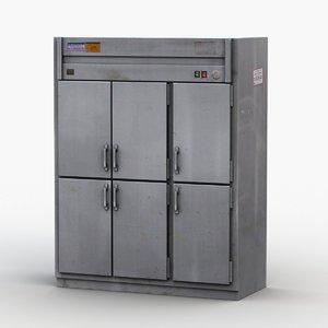 3D industrial freezer