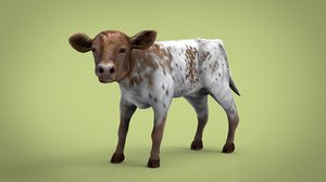animal mammal cow model