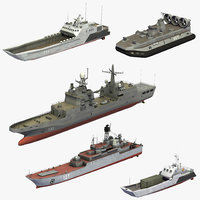 russian naval assault ships model