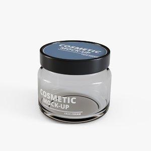 3D cosmetic cream