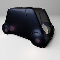 Concept styled autonomous car 3