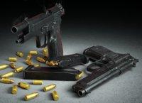 Semi Automatic Pistol-Beretta M9