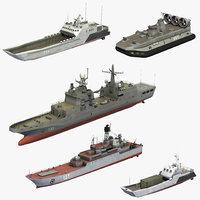russian naval assault ships model