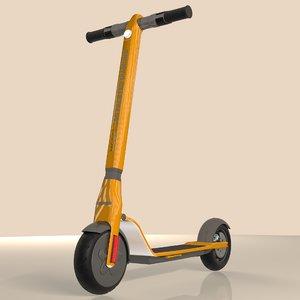 electric scooter 047 diamond 3D