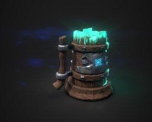 viking mug 3D model