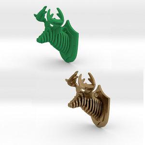 deer animal print model