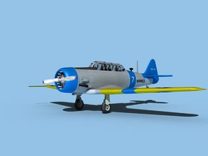 snj harvard north american 3D