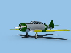 3D model snj harvard north american