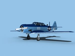 3D snj harvard north american model