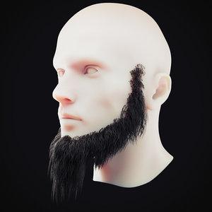 beard 5 3D model