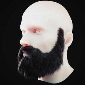beard 9 3D model