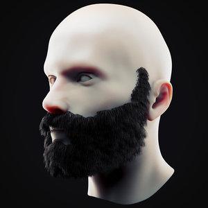 beard 11 3D